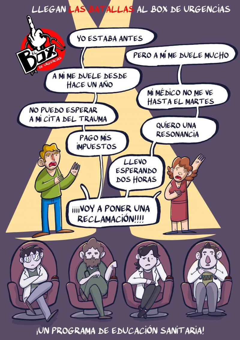 La Voz, Sanidad Española, yo doctor, yodoctor, el box de urgencias, educacion sanitaria yodoctor.es